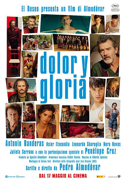 PRIMA VISIONE: << Dolor y Gloria >> di Pedro Almodovar.