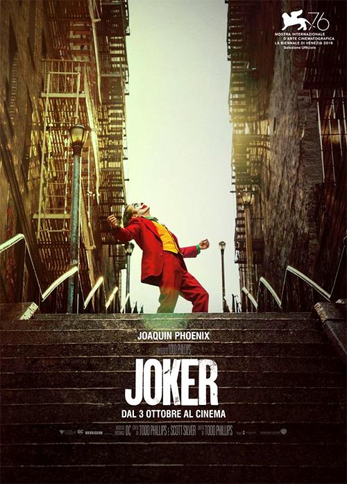 THE ORIGINAL ONES (film in lingua originale): << Joker >> di Todd Phillips.