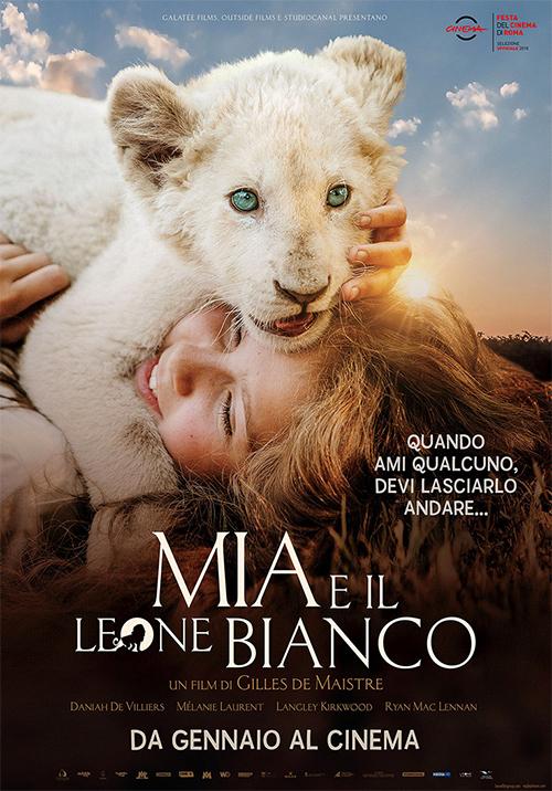 CINECLUB DEI BAMBINI - Sabato 20 aprile: << Mia e il leone bianco >> di Gilles de Maistre.