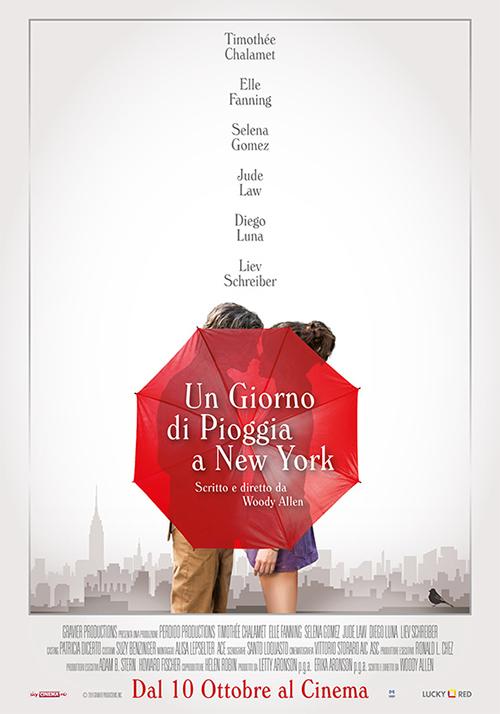 PRIMA VISIONE: << Un giorno di pioggia a New York >> di Woody Allen.