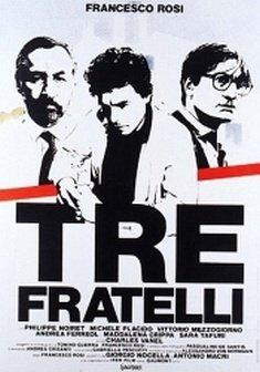 Giovedì 6 dicembre: << Tre Fratelli >> di Francesco Rosi.